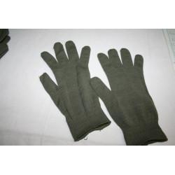 Sous gants kaki militaires( 2 paires)