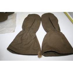 gants / moufle toile lin