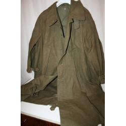 imperméable militaire en lin Motard années 50