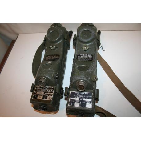 Couple émetteur récepteur ER 38 A