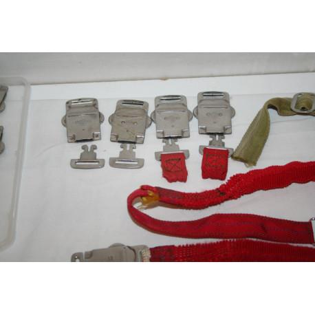Boucles automatiques inox et ceintures du gilet AERAZUR type 35-2